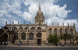 Christ Church Oxford University England Stock Photography