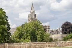 Christ Church Oxford University England Stock Photo