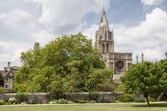 Christ Church Oxford University England Stock Photos