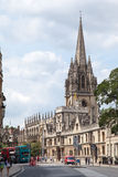 Christ Church Oxford University England Royalty Free Stock Photo