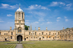 Christ Church's Tom Tower, Oxford University Stock Image