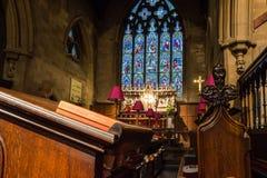 Christ Church With Saint Mary Choir. ENGLAND, SWINDON - 08 NOV 2015: Christ Church With Saint Mary Choir Stock Images