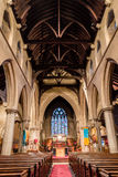 Christ Church With Saint Mary Nave. ENGLAND, SWINDON - 08 NOV 2015: Christ Church With Saint Mary Nave royalty free stock photos