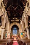 Christ Church With Saint Mary Nave. ENGLAND, SWINDON - 08 NOV 2015: Christ Church With Saint Mary Nave Royalty Free Stock Photos