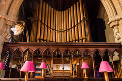 Christ Church With Saint Mary Organs. ENGLAND, SWINDON - 08 NOV 2015: Christ Church With Saint Mary Organs Stock Images