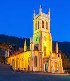 Christ Church, Shimla. Christ Church in Shimla is the second oldest church in North India Royalty Free Stock Photography