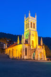 Christ Church, Shimla. Christ Church in Shimla is the second oldest church in North India Stock Photography