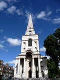 Christ Church Spitalfields 4 Royalty Free Stock Photos