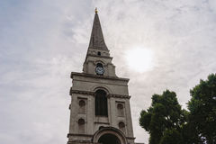 Christ Church Spitalfields in London Stock Photography