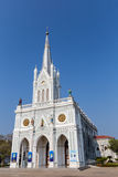 Christ Church in Thailand. Christ Church in Amphawa, Thailand Stock Images