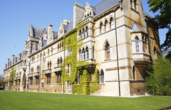 Christ Church University Oxford Royalty Free Stock Photography