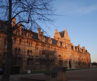Christ church University, Oxford. This college is the largest and most visited of all Oxford's Colleges Stock Photo