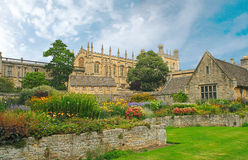 Christ Church. War Memorial Garden. Oxford, UK Royalty Free Stock Photos