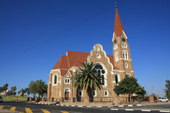 Christ Church of Windhoek. The christ church of windhoek Royalty Free Stock Image