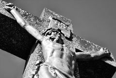 Christ on the Cross Stock Image