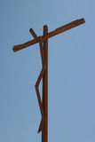 Christ of Cross. Jesus Christ crucified, Shrine of Our Lady of Fatima Stock Photo