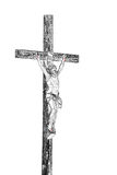 Christ on the Cross in Black & White Stock Photos