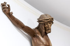 Christ crucified Stock Images