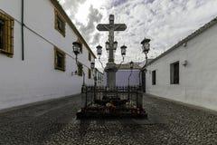 Christ de los Faroles, Cordova. Andalusia. Spain Royalty Free Stock Photo