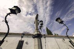 Christ de los Faroles, Cordova. Andalusia. Spain Stock Images