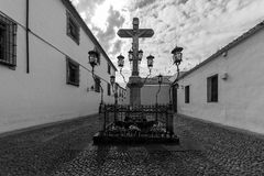 Christ de los Faroles, Cordova. Andalusia. Spain Royalty Free Stock Image