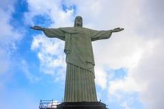 Christ der Redeemer in Rio de Janeiro Lizenzfreies Stockbild