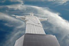 Christ der Redeemer, Rio de Janeiro, Brasilien. Lizenzfreies Stockfoto