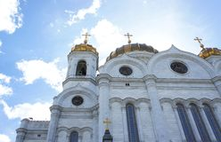 Christ die Retter-Kathedrale stockfoto