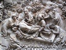 christ entombment landauer monumen schreyer zdjęcia royalty free