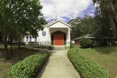 Christ Episcopal Church St. Marys Georgia Stock Image