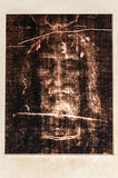 Christ face in Tourin royalty free stock photo