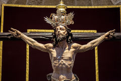 Christ of the forgiveness Stock Image