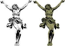 Christ gothic royalty free illustration