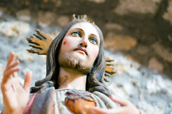 christ hjärtahelgedom jesus Arkivfoto