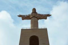 Christ il re lisbona portugal Fotografie Stock Libere da Diritti