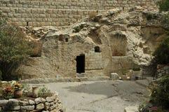 christ israel jesus tomb Arkivbilder