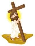 christ jesus иллюстрация вектора