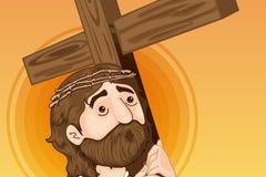 christ jesus royaltyfri illustrationer