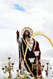 christ jesus gömma i handflatan Royaltyfria Bilder