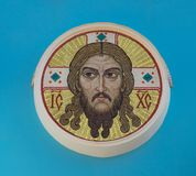 christ jesus mosaik Royaltyfri Foto