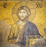 christ jesus mosaik Arkivbilder