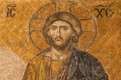 christ jesus mosaik Royaltyfri Bild
