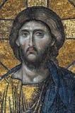 christ jesus mosaik Arkivfoto
