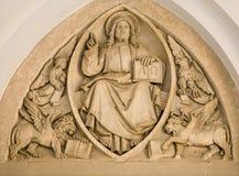 christ jesus pantokrator vienna Arkivbild