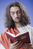 christ jesus personification Arkivbild