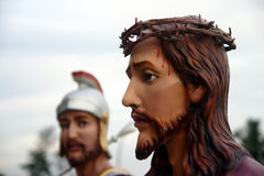 christ jesus prov Royaltyfri Foto