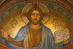 Christ, Jesus, Religion, Mosaic Royalty Free Stock Image