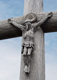 christ jesus s skulptur Royaltyfri Fotografi