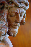 christ jesus skulptur Arkivfoton
