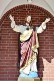 christ jesus staty Arkivfoto